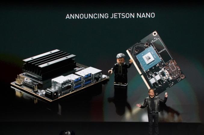 99美元AI计算机来了!英伟达Nvidia推出嵌入式电脑Jetson Nano和无人驾驶模型车Kaya
