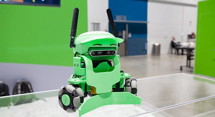 """英伟达NVIDIA小型自主机器人""""Kaya"""""""