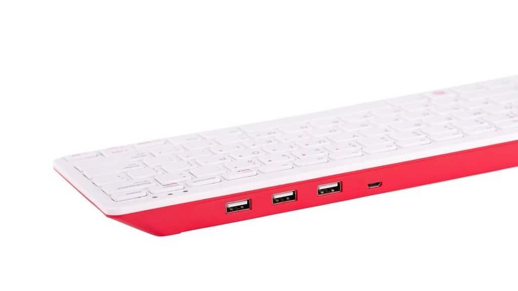 树莓派Raspberry Pi 推出官方键盘鼠标产品
