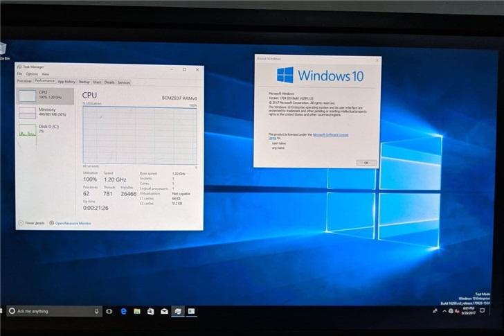 方法来了!树莓派3/4如何刷入Windows 10 ARM系统