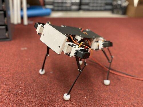 DIY一只机器狗需要多少钱?最低仅900美元,斯坦福大学出品,代码已开源